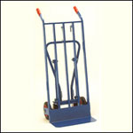 Three Position Heavy Duty Sack Truck with 200mm solid wheel