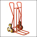 Stairclimber with 400 x 330mm folding toe