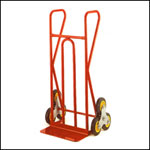 Stairclimber with 200 x 420mm fixed toe
